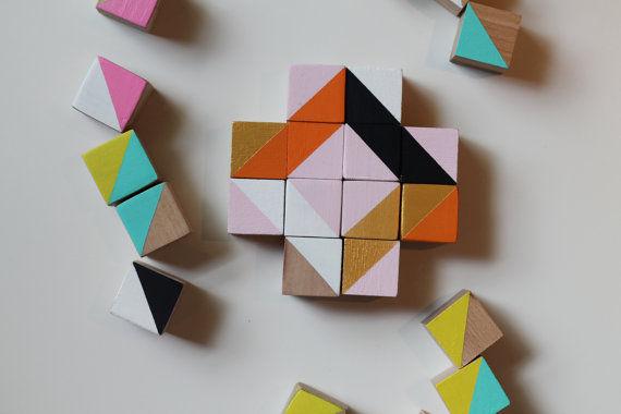 Artful Wooden Block Toys