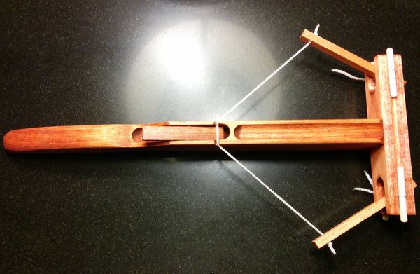 Mini Marshmallow Armaments Wooden Catapult