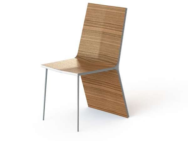 Wooden Chair by Pasi Savunen