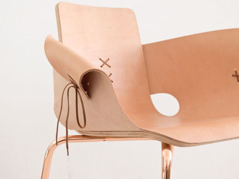 Sculptural Lace-Up Seating
