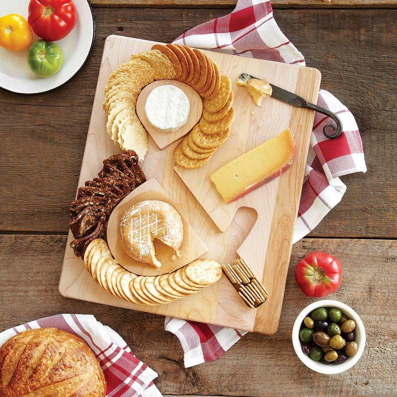 Typographic Snack Platters