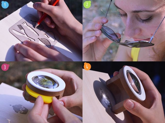 Multimedia Solar Paintbrushes