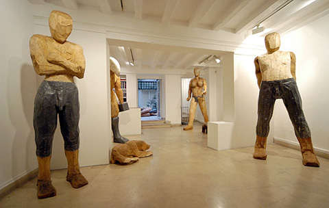 Whittled Art Exhibits
