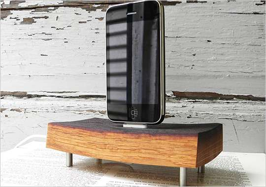 Woodsy Phone Stands