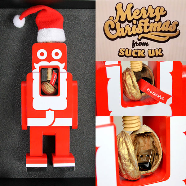 USB-Equipped Nutcrackers