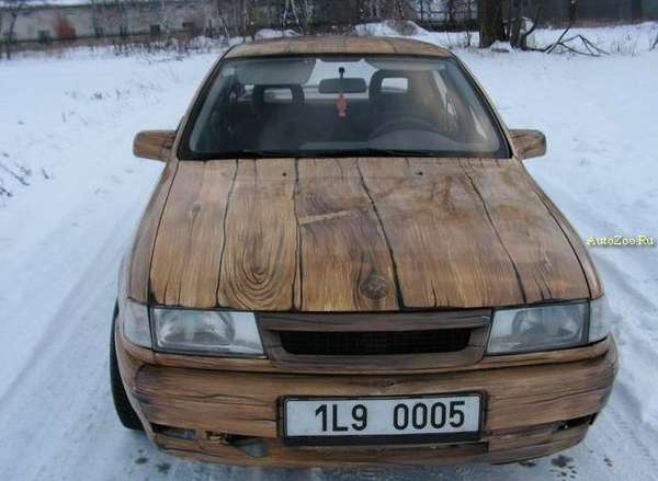 Wooden Cars II