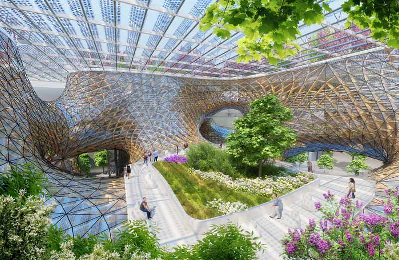 Orchid-Inspired Architecture