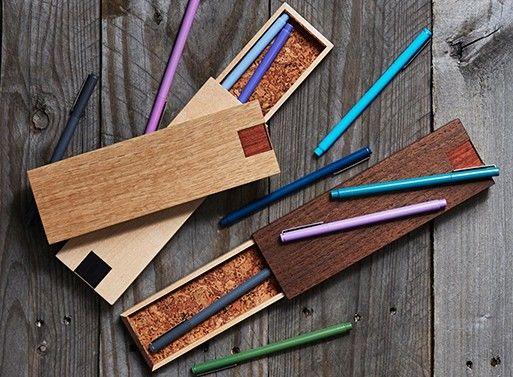 Wooden Pencil Cases