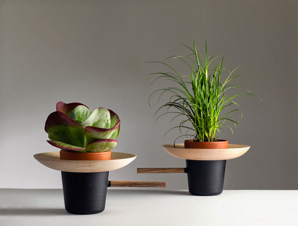 Upcycled Wooden Plant Pots