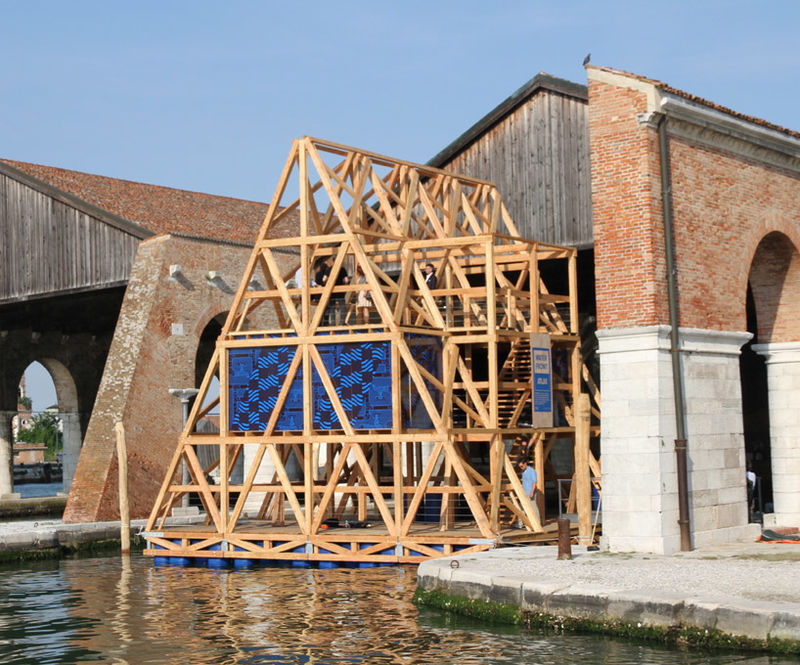 Wooden Floating Schools