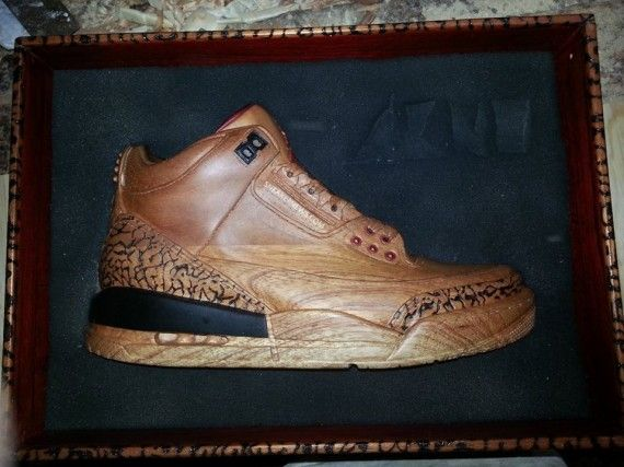 Hand-Crafted Wooden Sneakers