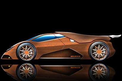 Worlds First Wooden Supercar