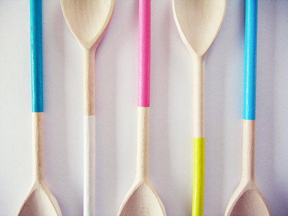 Dip-Dyed Kitchen Accessories