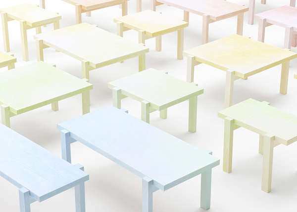 Pastel-Pencilled Furniture