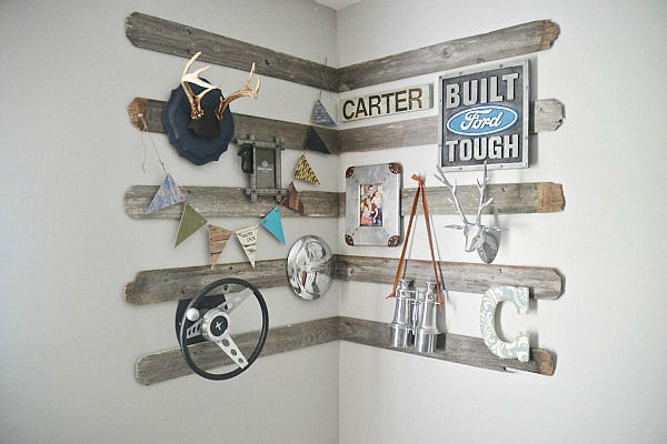 Rustic Wooden Wall Decor