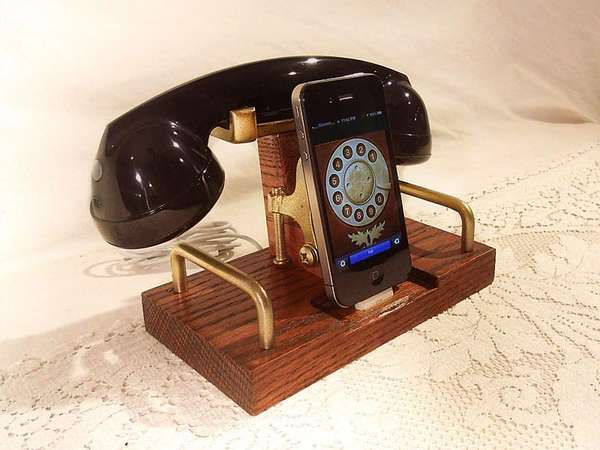 Vintage Wireless Landline Docks