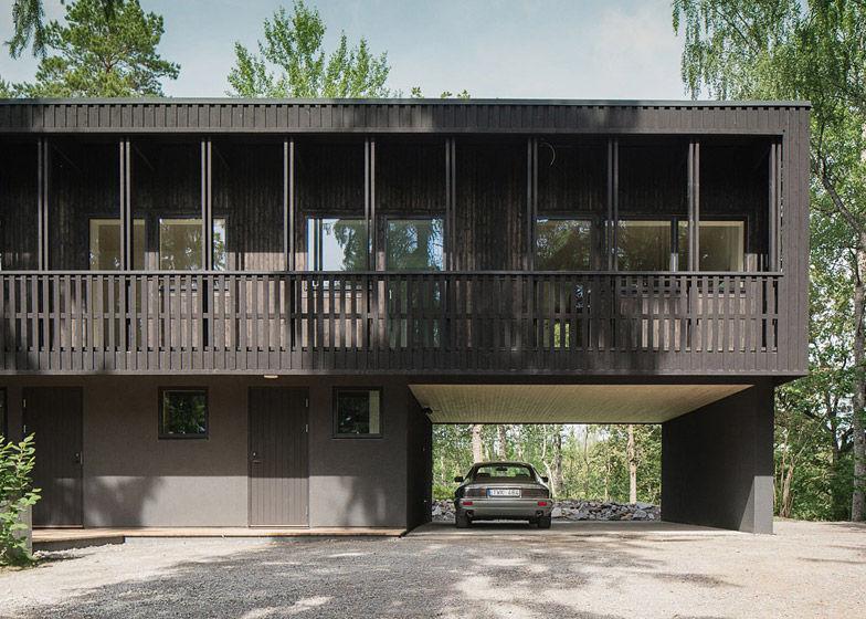 Earthy Swedish Villas