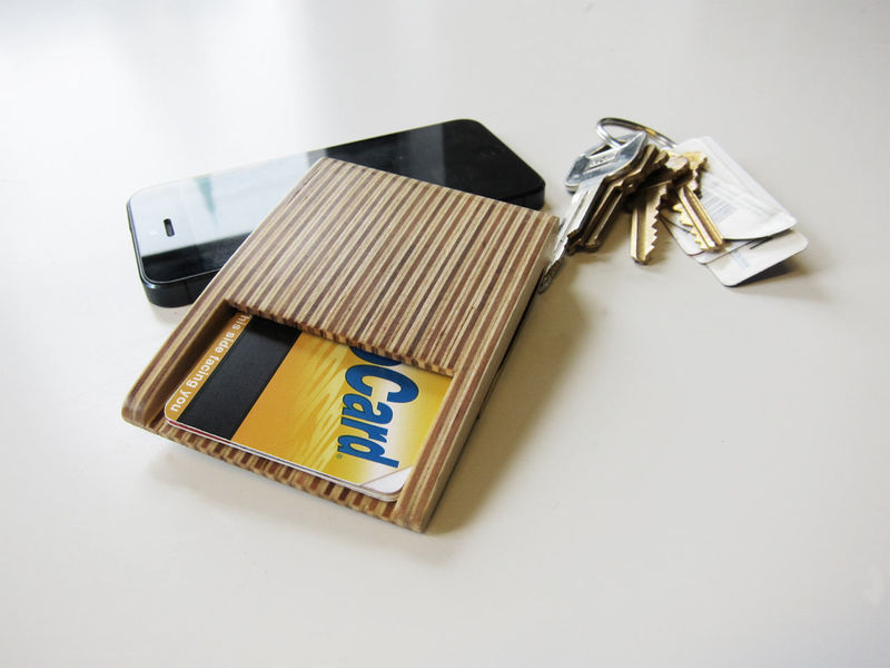 Simple Plywood Wallets