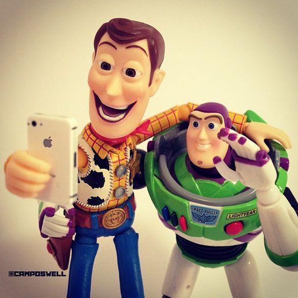 Pixar Character Photography