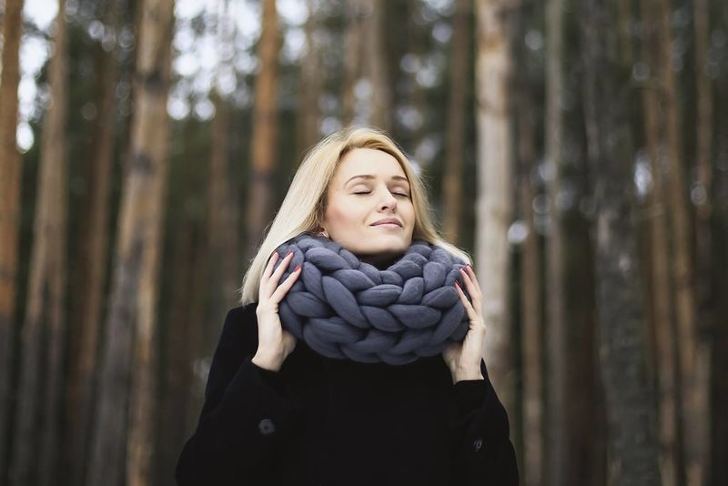 Oversized Knitted Cowls