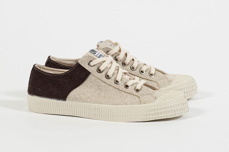 Textured Wool Sneakers
