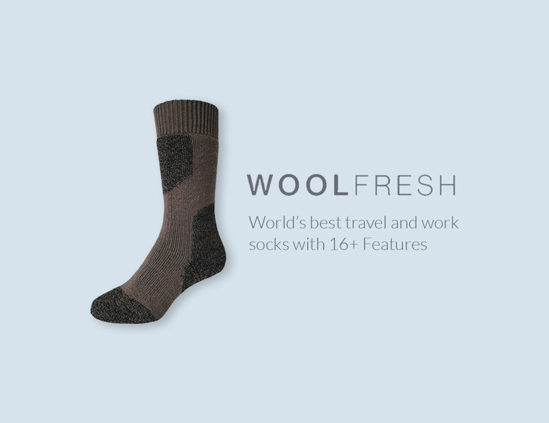 Guaranteed Freshness Wool Socks