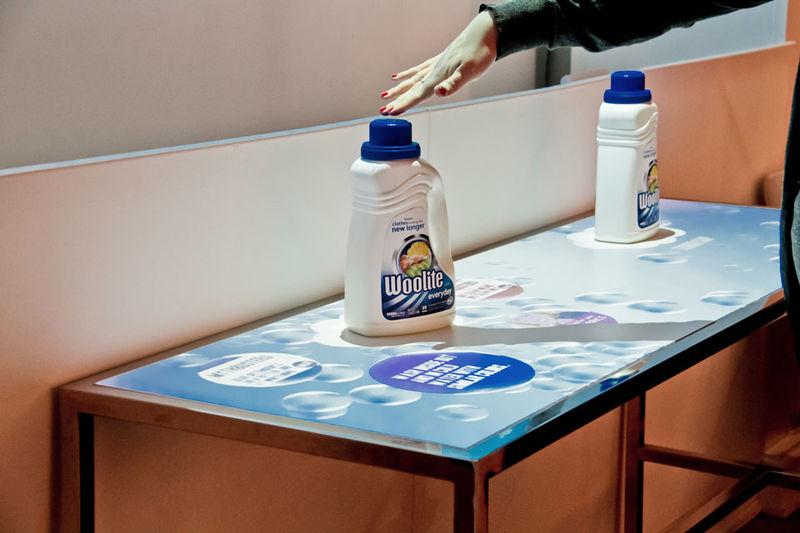 Digitized Detergent Displays