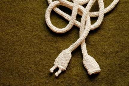 Knitted Power Cords