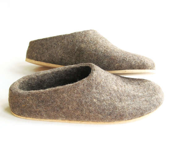 wool-made shoes