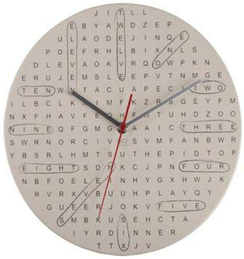 Word Nerd Clocks