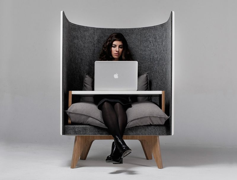 Comfy Privacy Work Chairs