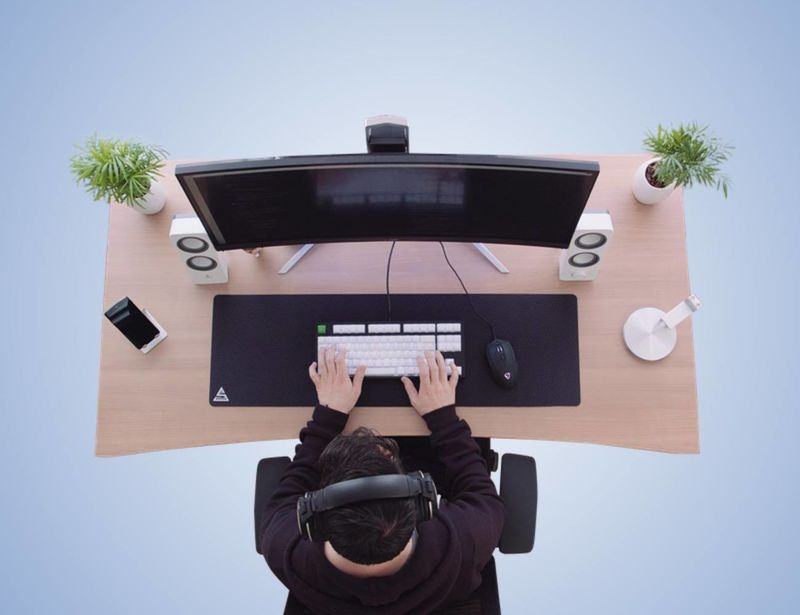 Collapsible Work Desk Designs