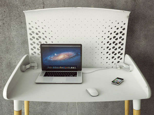 Tech-Hiding Work Tables