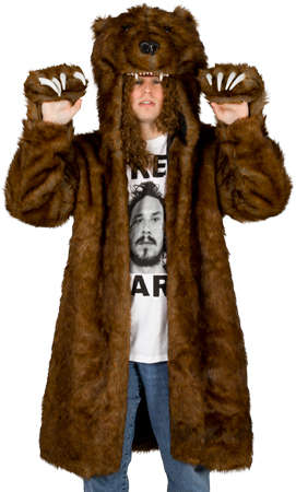 Grizzly Animal Jackets