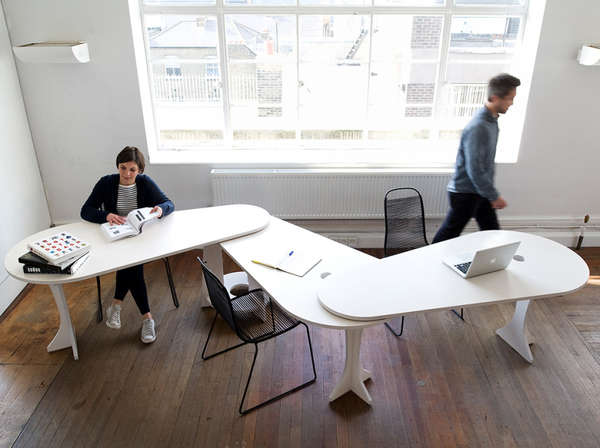 Pivoting Teamwork Desks