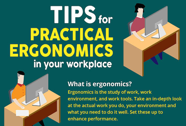 Comfort-Improving Office Tips : workplace ergonomics