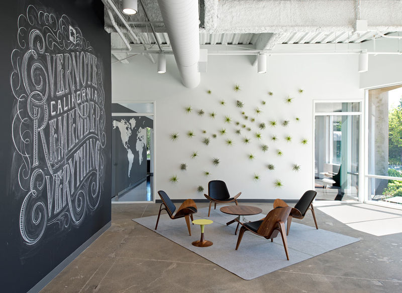 Blackboard Workspace Decor