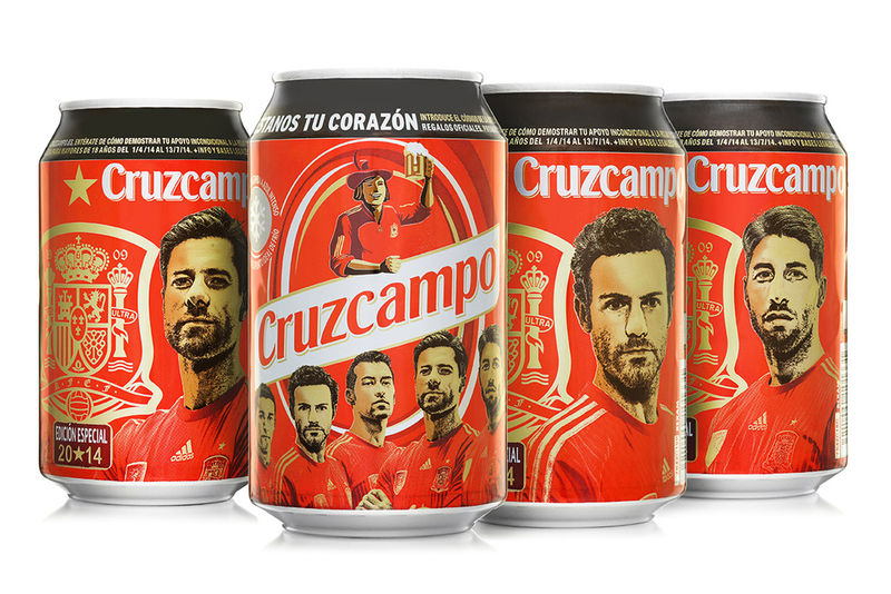 Sporty Soccer Beer Cans