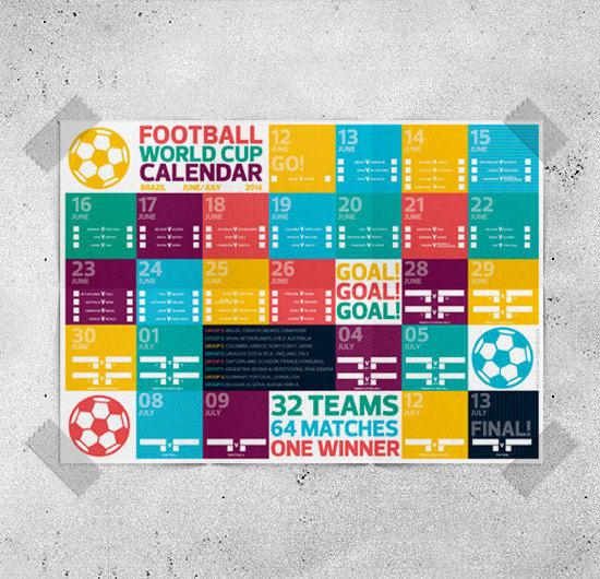 Soccer Scheduling Wall Art