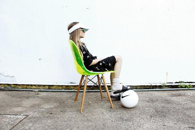 Sporty Childrenswear Photoshoots