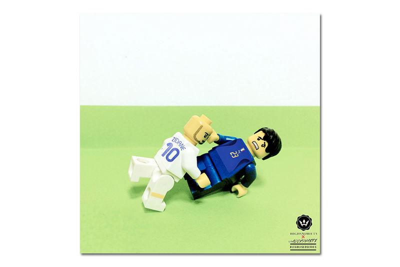 Historical Soccer LEGOs