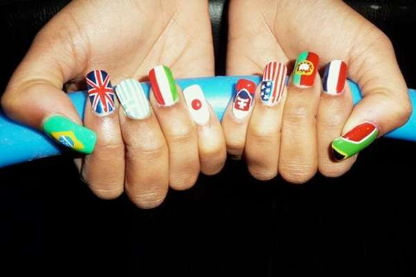 world cup manicures