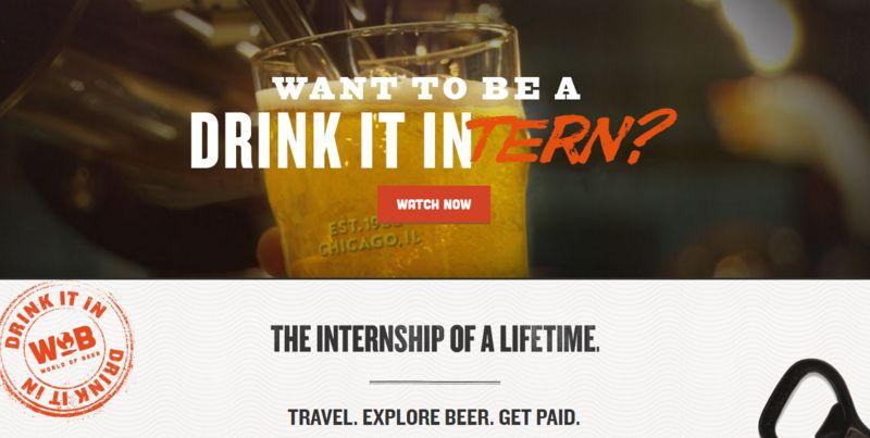 Beer-Drinking Internships