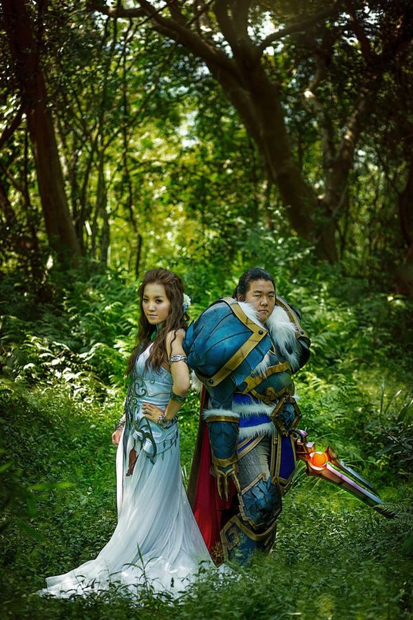Whimsical Gamer Weddings World Of Warcraft Theme