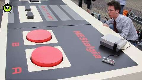 world s largest Nintendo controller
