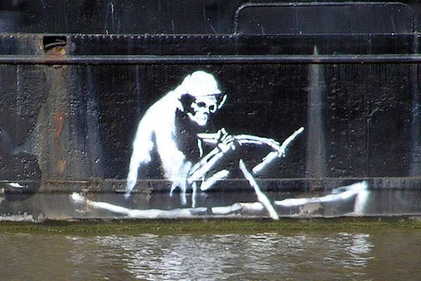 Water-Crisis Relief Graffiti