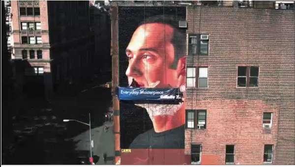 Massive Shaving Murals