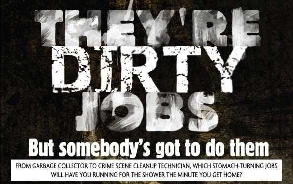 Dirtiest Career Choice Charts