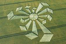 World's First 3D Crop Circles