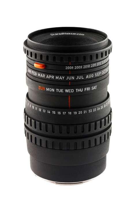 Camera Lens Calendars